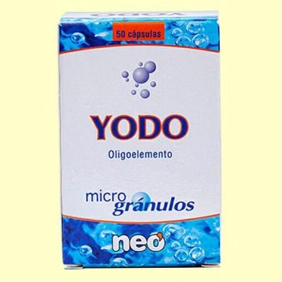 Microgránulos Yodo - 50 cápsulas - NEO