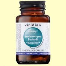 Synerbio Saccharomyces Boulardii - 30 Cápsulas - Viridian