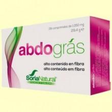 Abdográs - Grasa Abdominal - 28 comprimidos - Soria Natural