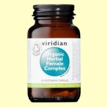 Complex Herbario Mujer Bio - 30 Cápsulas - Viridian