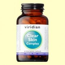 Clear Skin Complex - 60 Cápsulas - Viridian