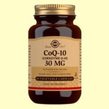Coenzima Q-10 - 30 mg - Solgar - 60 cápsulas vegetales