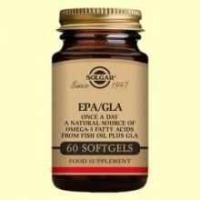 EPA/GLA Una al Día - 60 cápsulas blandas - Solgar