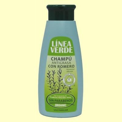 Champú Antigrasa - 400 ml - Línea Verde
