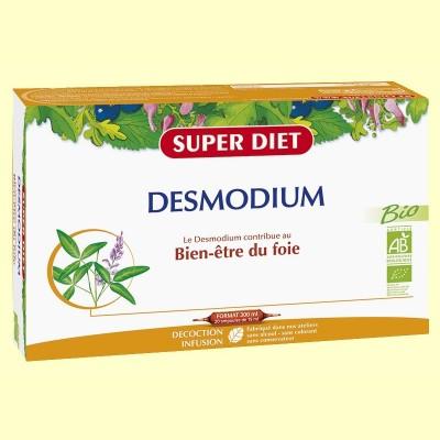Desmodium Bio - Ayuda al Hígado - 20 ampollas - Super Diet