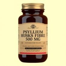 Fibra de Cáscara de Psyllium 500 mg - Fibra - 200 cápsulas - Solgar