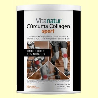 Cúrcuma Collagen Sport - 360 gramos - Vitanatur