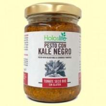 Pesto Kale Negro y Tomate Seco Bio - 130 gramos - Holoslife