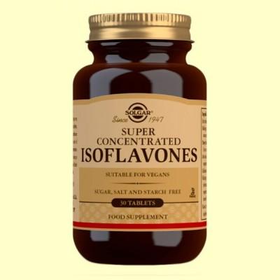 Súper Concentrado de Soja - 30 comprimidos - Solgar