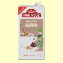 Bebida Ecológica de Arroz y Algarroba - 1 Litro - Natursoy