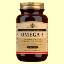 Omega 3 de Alta Concentración - 30 cápsulas blandas - Solgar
