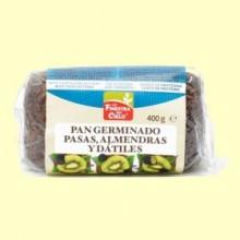 Pan Germinado con Pasas, Almendras y Dátiles Bio - 400 Gramos - La Finestra Sul Cielo