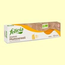 Espaguetis Multicereales Bio - 400 gramos - Felicia