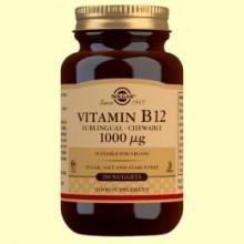 Vitamina B12 1000 μg - 250 comprimidos - Solgar