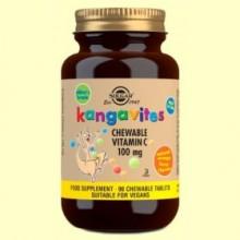 Kangavites - Vitamina C 100 mg - 90 comprimidos - Solgar