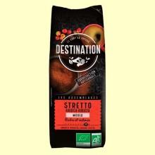 Café Stretto Italiano Molido Bio - 250 gramos - Destination