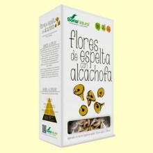 Flores de Espelta con Alcachofa - Pasta Ecológica - 250 gramos - Soria Natural