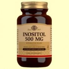 Inositol 500mg - Vitamina B - 50 cápsulas - Solgar