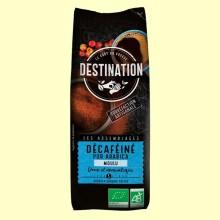 Café Molido Descafeinado Suave 100% Arábica Bio - 250 gramos - Destination
