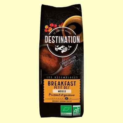 Café Molido para Desayuno Bio - 250 gramos - Destination