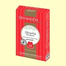 Cápsulas de Café Expreso Stretto Bio - 55 gramos - Destination