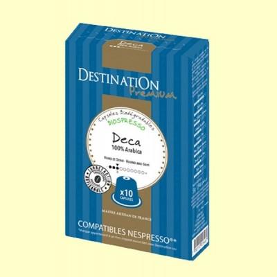 Cápsulas de Café Expreso Descafeinado Suave Bio - 55 gramos - Destination