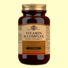 Vitamina B-Complex con Vitamina C - 100 comprimidos - Solgar