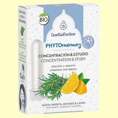 Inhalador descongestivo Phyto Memory - 5 ml - Esential Aroms