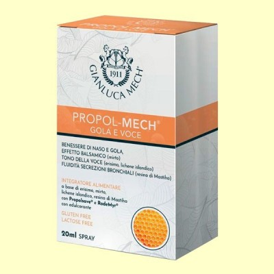 Propol Mech Aerosol - 20 ml - Gianluca Mech