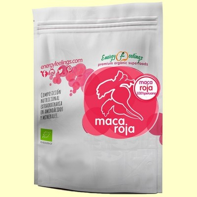 Maca Roja Ecológica - 200 gramos - Energy Feelings