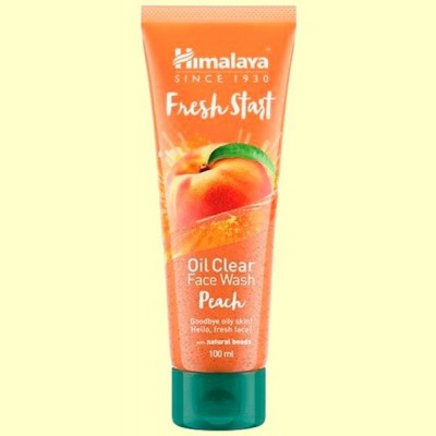 Limpiador Facial Fresh Start Melocotón - 100 ml - Himalaya
