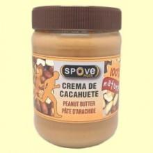 Crema de cacahuetes - 500 gramos - Spove Nuts