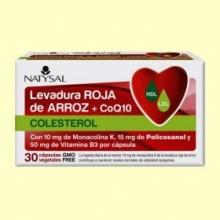 Levadura Roja de Arroz + CoQ10 - 30 cápsulas - Natysal