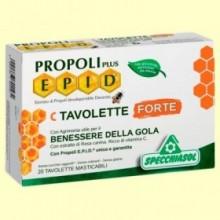 Propoli Plus EPID C Forte - 20 tabletas - Specchiasol