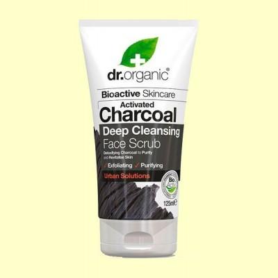 Exfoliante Facial de Carbón - 125 ml - Dr.Organic
