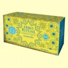 Erbo Ritual Manzanilla Bio - 20 sobres - Gianluca Mech *