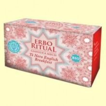 Erbo Ritual Té Negro Bio - 20 sobres - Gianluca Mech