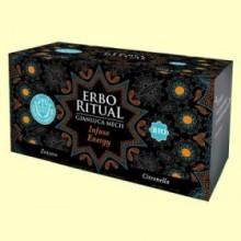 Erbo Ritual Infusión Energy Bio - 20 sobres - Gianluca Mech