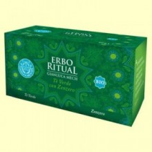 Erbo Ritual Té Verde con Jengibre Bio - 20 sobres - Gianluca Mech