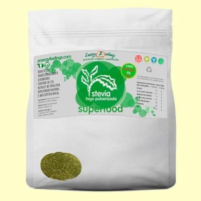 Estevia Eco Hojas Pulverizadas - 250 gramos - Energy Feelings