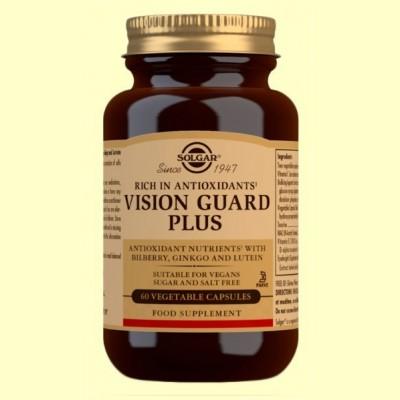 Vision Guard Plus - Salud para los ojos - 60 cápsulas - Solgar