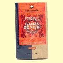 Té Ganas de Vivir con cúrcuma, canela y azafrán - 30,6 g - Sonnentor