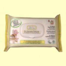 Toallitas Baby manzanilla y caléndula Eco - 60 Uds - Baby Anthyllis