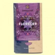 Té Florecer con rosa, echinacea y onagra Bio - 27 g - Sonnentor