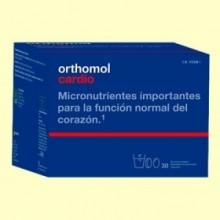 Orthomol Cardio - 30 viales - Laboratorio Cobas