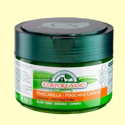 Mascarilla Capilar Bio de Aloe Vera y Enebro - 250 ml - Corpore Sano