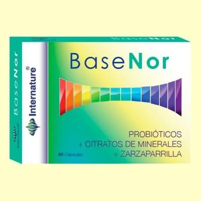 Basenor - 60 cápsulas - Internature