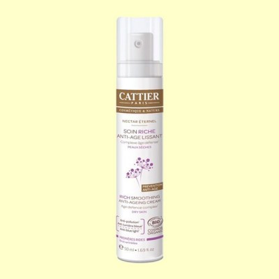 Crema de Día Textura Rica - 50 ml - Cattier