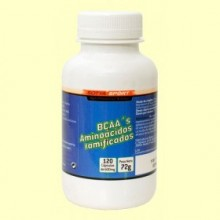 BCAA's Aminoácidos Ramificados - 120 cápsulas - Sotya