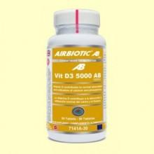 Vitamina D3 5000 AB - 30 tabletas - Airbiotic